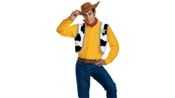 Can't you hear Woody's voice just by looking at this costume?