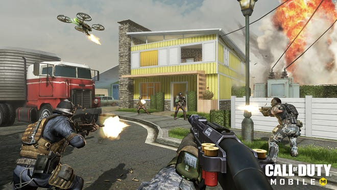 Activision has released a mobile version of the popular Call of Duty video game that is free-to-play on Android and iOS devices.