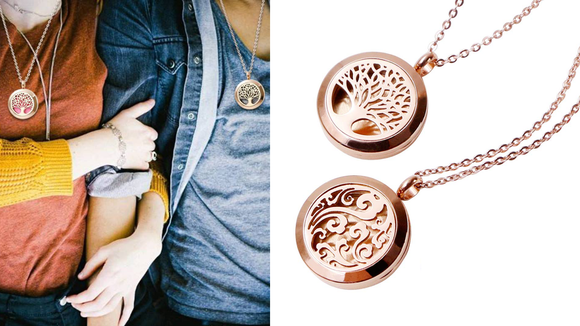 Wear your favorite scent around your neck.