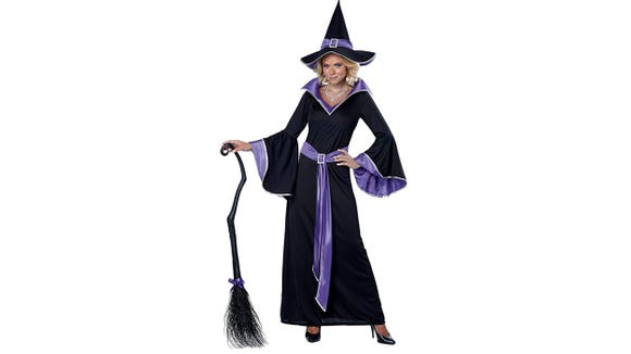 This dress will make anyone ready to cast some spells in an instant.