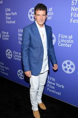 "Antonio Banderas attends the ""Pain And Glory"" premiere during the 57th New York Film Festival at Alice Tully Hall, Lincoln Center on Sept. 28, 2019 in New York City."