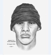 Texas Rangers created a sketch of the suspect in the July 12, 2016, robbery of First Bank Texas in Abilene.