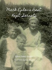 Cover of the Mack Eplen's cookbook now for sale.