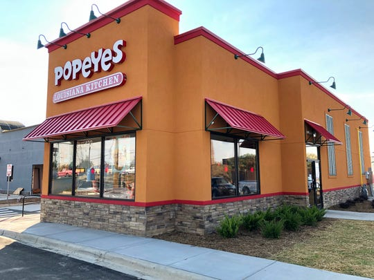 Popeyes Louisiana Kitchen at 422 Airport Road is set to open and awaits a final inspection from the city of Asheville.