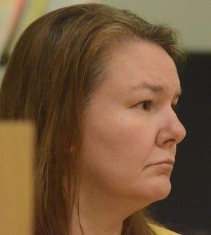 Marcia Lutz in court Wednesday.
