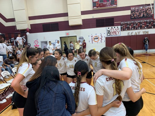 High School Volleyball: Tuloso-Midway defeats rival Calallen