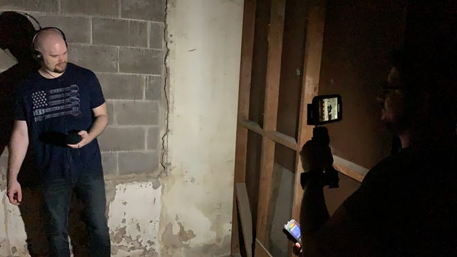 Ghost hunters investigated Corpus Christi Spook Central's Haunted House on Friday, Sept. 13, 2019.