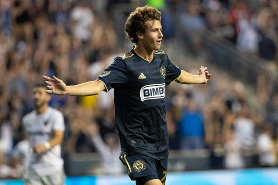 Medford native Brenden Aaronson has put together a stellar rookie season for the Union. Wednesday he was recalled by the U.S. Men's National Team.