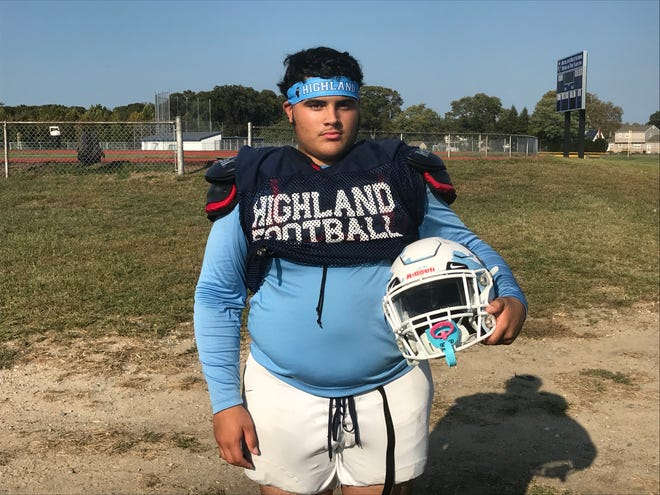Josh Ortiz is a three-year starter and two-year captain for the Highland High School football team.
