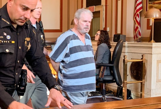 Harold White was given two life sentences Wednesday for the rape and torture of two young girls in 2013.
