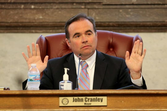Mayor John Cranley photographer Oct. 2