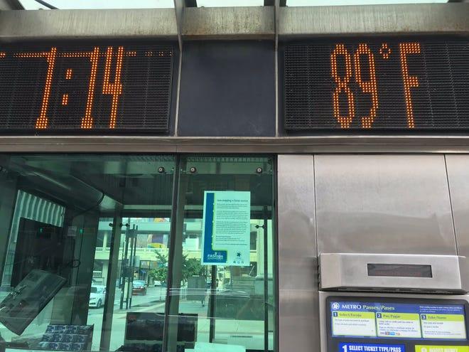 It's already been a record-setting hot fall in Cincinnati.