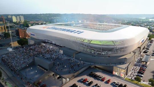 FC Cincinnati West End stadium