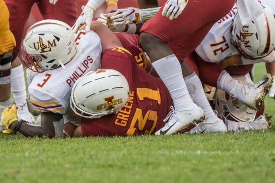 Conner Greene has become a special success story for the Iowa State football team.