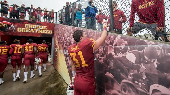 Walk-on Conner Greene not only has earned a scholarship but has become a surprise contributor for Iowa State this season.