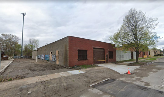 The Google Maps view of 1087 Baufait, the location of Brewery Faisan, which will open in this space Oct. 24.