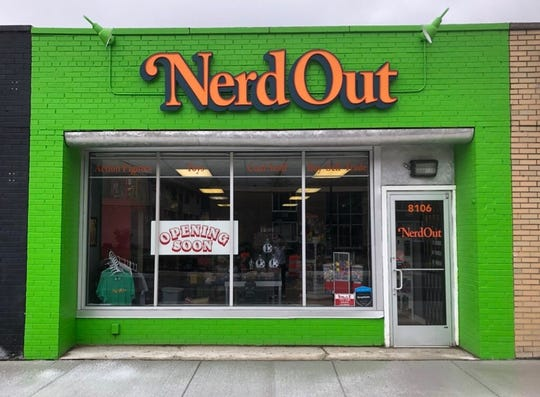 Nerd Out is a new collectible toy shop in Oak Park.