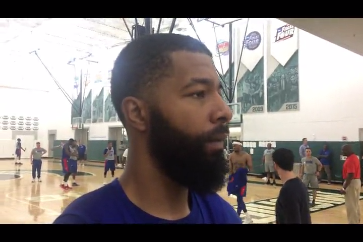 Detroit Pistons weren't on Markieff Morris' list. His twin got him to see a 'perfect fit'