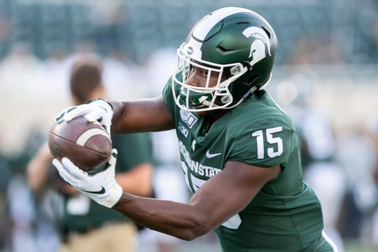 Michigan State running back La'Darius Jefferson appears to already be filling in the third-down role vacated by Connor Heyward, who announced his plans to transfer this week.