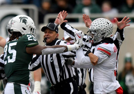 Darrell Stewart and Damon Arnette could tangle again when Michigan State takes on Ohio State on Saturday night.