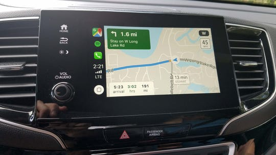 The 2019 Honda Passport features Apple CarPlay standard — which is a big help on long trips.