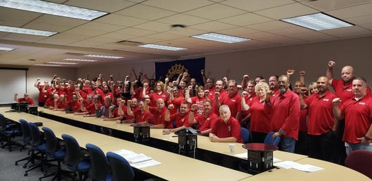 United Auto Workers-General Motors 2019 bargaining team and support staff.