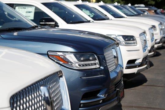 Detroit automakers report third-quarter sales figures Wednesday.