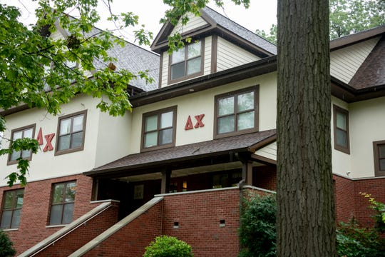Delta Chi fraternity in Ann Arbor, October 2, 2019.