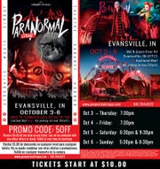 Paranormal Cirque is in Evansville Thursday through Sunday in the Eastland Mall parking lot.
