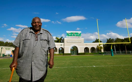 Joe White was one of the first two African-Americans to play football at Fort Myers High School. White joined the Green Wave in the fall of 1969 after transferring from Dunbar.