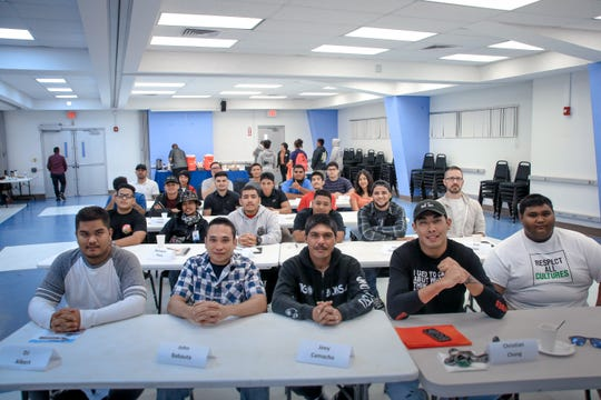 The Guam Community College and Cabras Marine Corporation launched the second Ship Repair Transportation Boot Camp with 20 participants and  three alternates who will be trained in various trades and career skills. The boot camp identifies and trains qualified candidates to enter the apprenticeship program with Cabras Marine Corporation once they successfully complete training in carpentry, electrical, welding, plumbing and painting/blasting. Participants will also be certified in CPR/Basic First Aid, OSHA-10 and National Career Readiness Certification.
