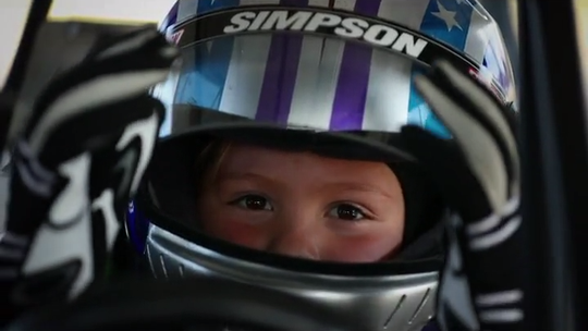 Kolette is 7. She loves princesses and singing. Oh, and racing dragsters.