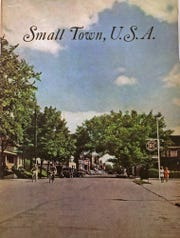 In 1943, the Office of War Information began a propaganda series about American life and culture. Alexandria, Ind., was one of the small U.S. towns profiled, and this is the cover of the 1943 publication.