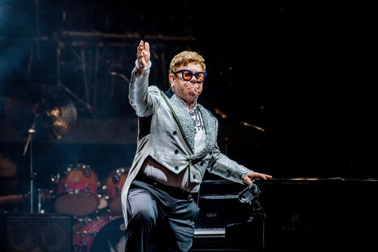 Elton John will perform March 26 at Bankers Life Fieldhouse.