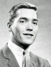 Alan Jensen Bardach from the Shortridge High School yearbook photo