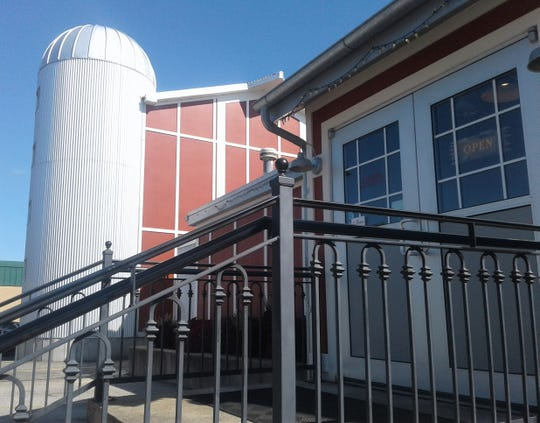 "This smokehouse barn and silo were added to Jimmy Jack's Rib Shack in Iowa City in 2016. ""We needed more smokers and refrigerator space,"" said co-owner Jack Piper."
