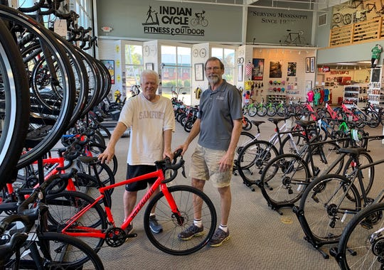 Tom Martin, left, and Jim Ballard, are the owners of Indian Cycle & Fitness in Ridgeland.