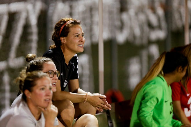 New Lafayette Jeff girls soccer coach Alyssa Mitchem coached West Lafayette to a sectional title last season.