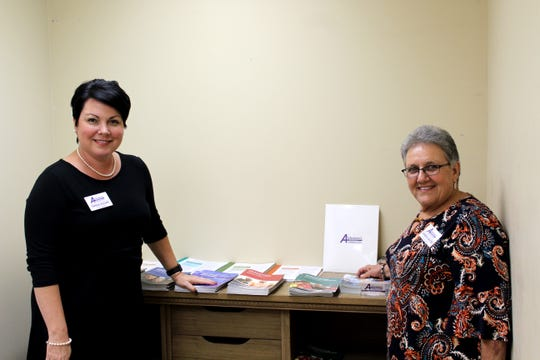 Tasha Dugas and Debra Savoie, the co-founders of Alzheimer's Services of Acadiana, have an office in the Senior Helpers facility in the Oil Center.