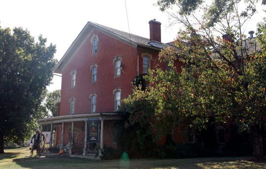 The Clarence E. Miller Building on Granville Pike in Lancaster will open to the public as a True American Haunt Saturday, Oct. 5, 2019. The haunted house and escape rooms are used as a fundraiser for Habitat of Humanity of Fairfield County.