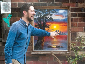 From heroin needles to artwork: How one Louisville alley changed an entire neighborhood