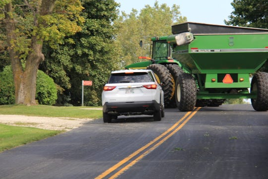 According to the Wisconsin DOT, 32 people have been killed and 874 people injured in crashes involving agricultural equipment between 2009 and 2018.