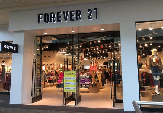 The Forever 21 store at Mayfair mall is among locations that may close as the fashion retailer seeks to reorganize in Chapter 11 bankruptcy.