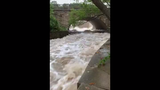 "Officials from the South Milwaukee Fire Department shared a video of the rushing Oak Creek after Tuesday's storms with a warning: ""Please do not ever underestimate the power of water."""