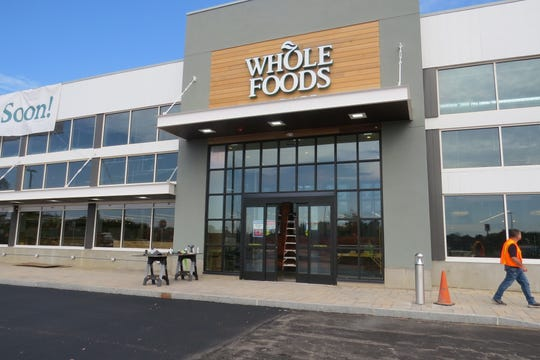 Whole Foods will open Nov. 6 at the new Waterview Marketplace on Route 46 West. Some stores opened in August. Oct. 2, 2019.
