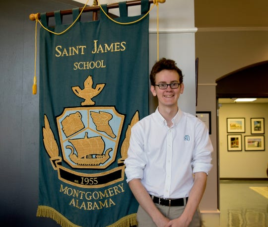 Saint Jame's Trevor Otis qualified as a National Merit Semifinalist.