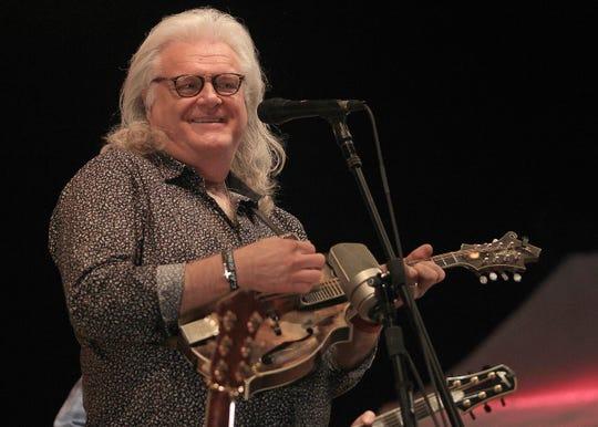 Ricky Skaggs plays his mandolin at Hometown Jam in Hendersonville, Tenn. on Tuesday, October 1, 2019.