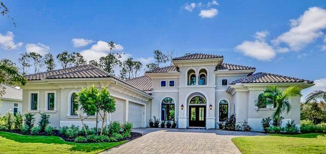 The Ponte Vedra Grande is the latest unfurnished estate home to sell in Quail West.