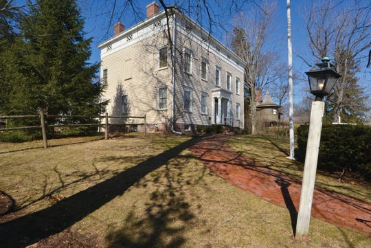 The Israel Crane House museum is part of Montclair Historical Society's collection of historic houses. It's the first top on the Harvest Home tour this Saturday.