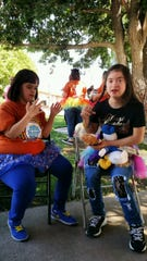 Two participants of a recent Las Cruces Buddy Walk talk about the event.